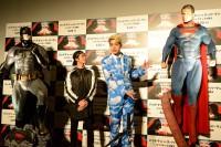 菅谷哲也、けみお(右)/『バットマン vs スーパーマン』ジャパン・プレミア盛大に開催!(写真:鈴木一なり)