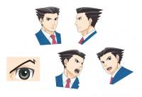 アニメ『逆転裁判』キャラクター画像