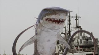 サメとタコが一体化したシャークトパス 『シャークトパスVS狼鯨』(C)2015 Emerald City Pictures, LLC All Rights Reserved