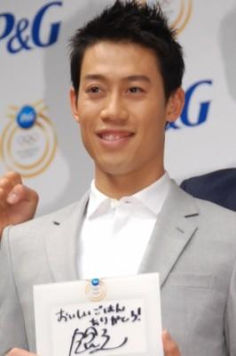 日本テニス界96年ぶりのメダル獲得への期待が高まる錦織圭選手(C)ORICON NewS inc.