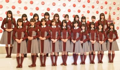 デビュー8ヶ月での出場となった欅坂46