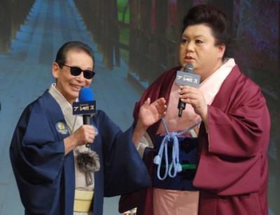 スペシャルゲストとして出演するタモリとマツコ・デラックス