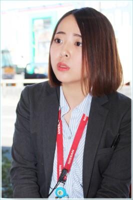 増田有紗さん/日産プリンス東京販売株式会社 葛飾金町店 カーライフアドバイザー
