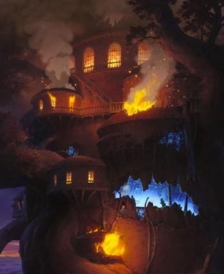 謎のツリーハウス