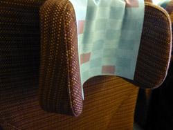 枕の部分は高さも調整可能で程よくフィット!