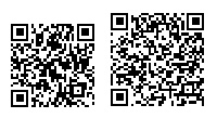 国生さゆり着うたQRコード(左)と着うたフルQRコード(右)