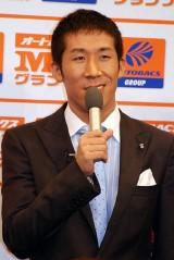 『M-1 グランプリ2007』のプレス発表会に出席した麒麟の田村裕