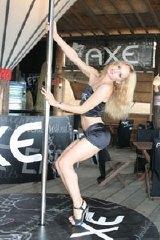イメージ:美女によるポールダンスショー