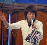 大阪・読売テレビの夏イベント『わくわく宝島 OBPでウッキッキー』でトークショーを行った田村 淳