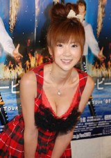 ピーター・マービーの日本初公演マジックショーの特別公開ゲネプロに登場したほしのあき