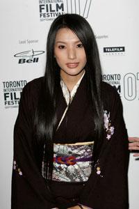 トロント国際映画祭に、日本の美の象徴として登場した芦名星