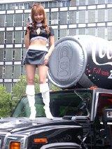『コカ・コーラ ゼロ』新キャンペーン出陣式での様子