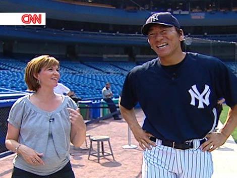スペシャル・プログラム『Japan Now(ジャパン・ナウ)』に出演するニューヨークヤンキース・松井秀喜