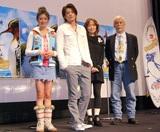 CGアニメ映画『サーフズ・アップ』のジャパンプレミアの様子