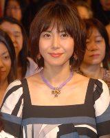 7月にご懐妊を報告した松嶋菜々子、無事に第2子を出産。