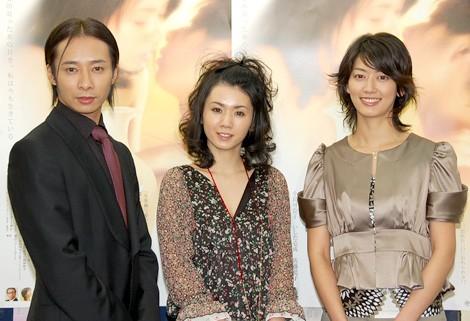 いしだ壱成、小島加奈子、佐藤藍子