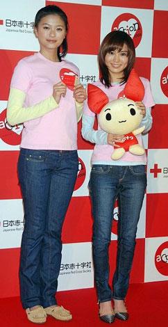 「いっしょに献血キャンペーン」広報キャラクターに選ばれた2人