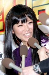 ゲームソフト『桃太郎電鉄』の20周年記念新タイトル発表会に出席した若槻千夏