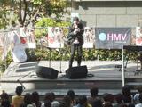 大阪・阿倍野でライブを開催した松本隆博