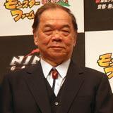 十津川警部シリーズの作者でトラベルミステリーの大家・西村京太郎(07年3月撮影)