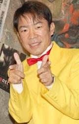 映画『REC』のPRイベントに出席したダンディ坂野