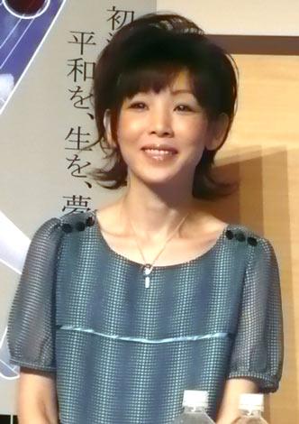 舞台『THE WINDS OF GOD〜零のかなたへ〜』の製作発表に出席した鈴木早智子