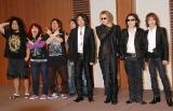 追悼イベント『hide memorial summit』発表会見時のX JAPAN・YOSHIKI、LUNA SEA・RYUICHIら