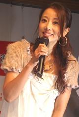 「女性」部門1位を獲得した、ユンソナ(07年10月06日、撮影)