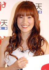インターネットTV『MONEY TV』の開設イベントに出席した大沢あかね