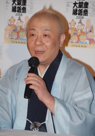 『第5回 大銀座落語祭』の記者発表会に出席した春風亭小朝