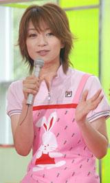 テレビ朝日系ドラマ『ロト6で3億2千万円当てた男』の制作発表会見に出席したさくら