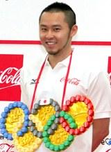 「金メダルを獲る」と決意を新たにした競泳平泳ぎの北島康介選手