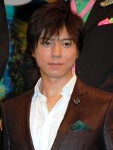 映画『パコと魔法の絵本』の完成披露記者会見に出席した上川隆也