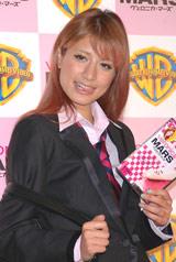 映画「ヴェロニカ・マーズ」DVD発売記念発表会に登場したマリエ