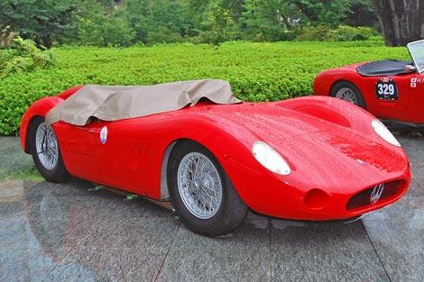 堺正章の愛車、1957年式『MASERATI 200SI』