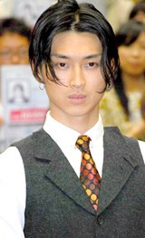 主演映画『イキガミ』(9月27日公開)のティーチイン試写会後に特別講義を行った松田翔太