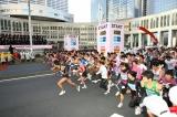 「東京マラソン」昨年度の様子(スタート時)  (C)TOKYO MARATHON