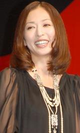 映画『容疑者Xの献身』舞台挨拶での松雪泰子