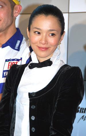『BRIDGESTONE MotoGP Experience』パーティーに出席した坂井真紀