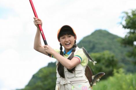 【釣りガール】釣りが好きな芸能人の皆さん(女性編) 川口春奈…でも魚に触れない
