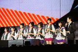 アジア新人歌手賞を受賞したBerryz工房