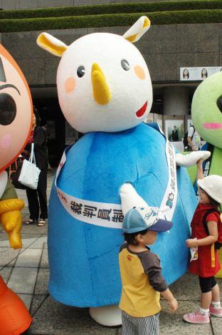 日本弁護士連合会のイメージキャラクター「サイサイくん」