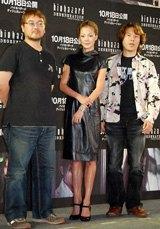 (左から)神谷誠監督、土屋アンナ、小林浩幸プロデューサー
