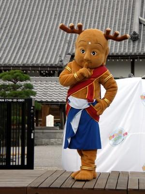 平城京遷都1300年祭キャラクターのせんとくん
