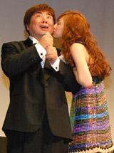 北川景子からキスのご褒美をもらった塚地武雅
