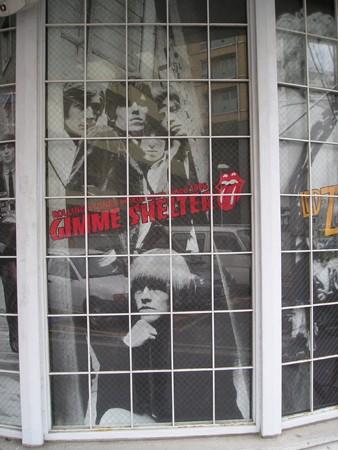 「GIMME SHELTER」は、ザ・ローリング・ストーンズのメンバーたちも認知している世界唯一の公式リアル・ストアだった