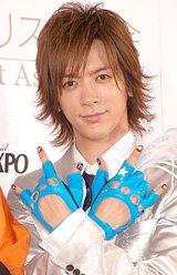 『ネイルクイーン2008』を受賞したDAIGO