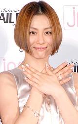 『ネイルクイーン2008』を受賞した米倉涼子