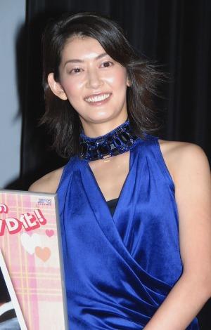 ドラマ『イタズラなKiss』の日本版DVD発売記念イベントに出席した佐藤藍子
