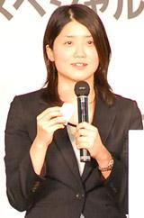 トークショーに出席した中村礼子さん